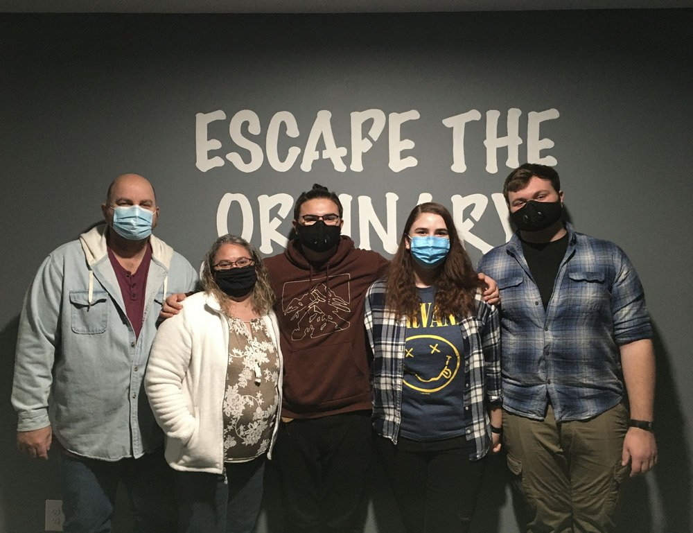 Social Spots from Crack The Code Escape Room