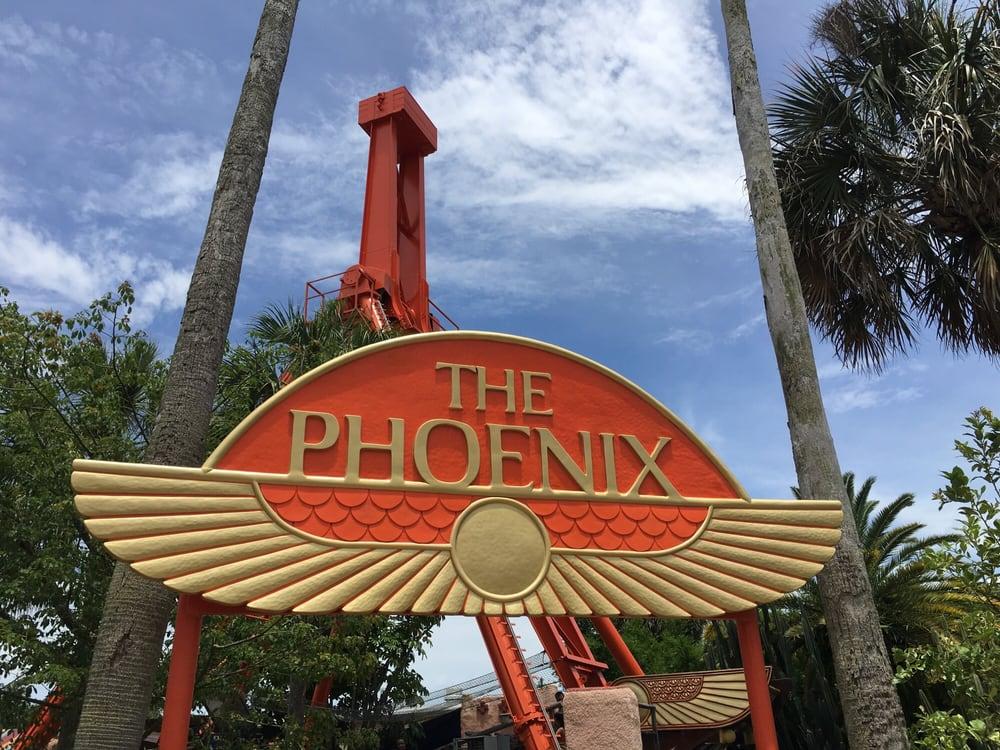 The Phoenix Amusement Parks 3000 E Busch Blvd Busch Gardens Tampa Fl Yelp