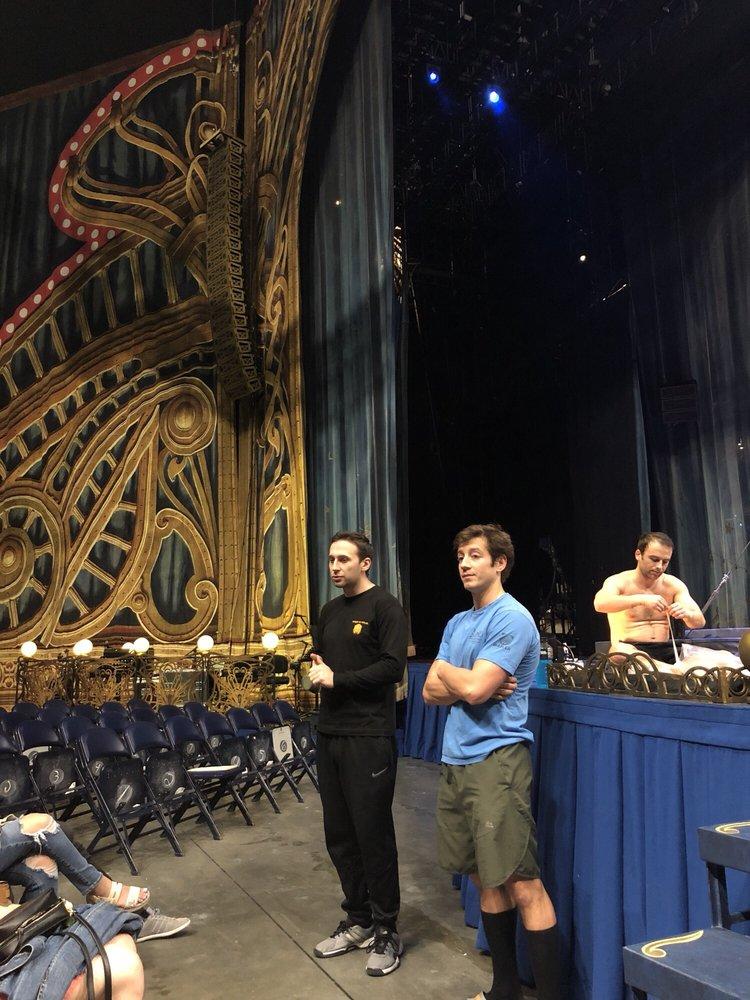 Behind The Curtain for Cirque Du Soleil's Corteo