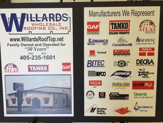 Photo Of Willardu0027s Wholesale Roofing   Del City, OK, United States. In  Business