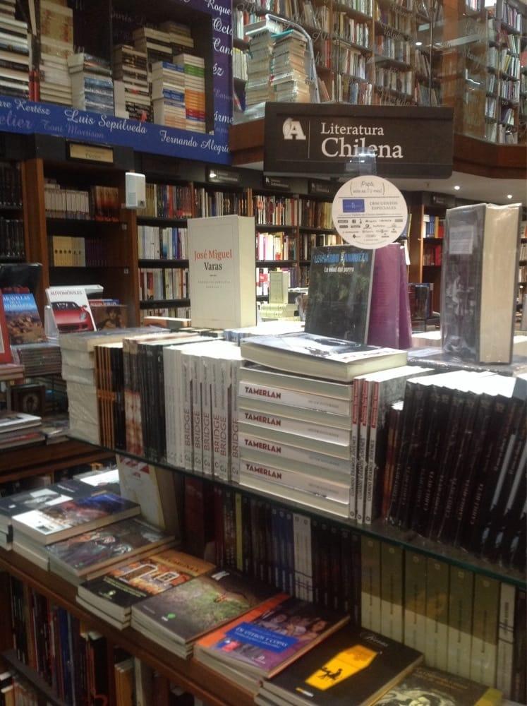 Librer a ant rtica librer as av andres bello 2447 sanhattan rm santiago de chile chile - Libreria couceiro santiago ...