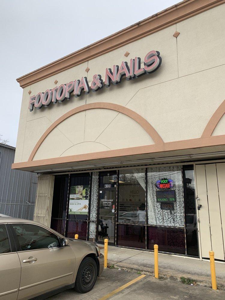 Footopia Nails: 4120 Washington Ave, Houston, TX