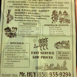 Superieur Mr. Huy The Gardener   Gardeners   San Diego, CA   Phone ...