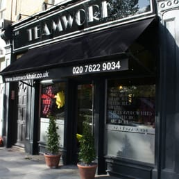 Teamwork hairdressers 220 battersea park road for Absolute tan salon milton fl