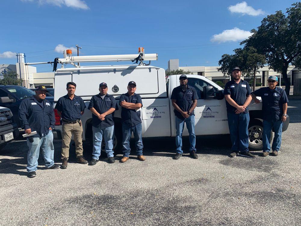 South Texas Air Force AC and Heating: 12521 Nacogdoches Rd, San Antonio, TX