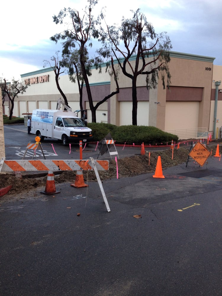 New Water System At One Of San Diego S Home Depot Stores It Rained