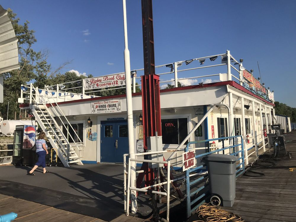 Ripley Boat Club: 109 S Front St, Ripley, OH