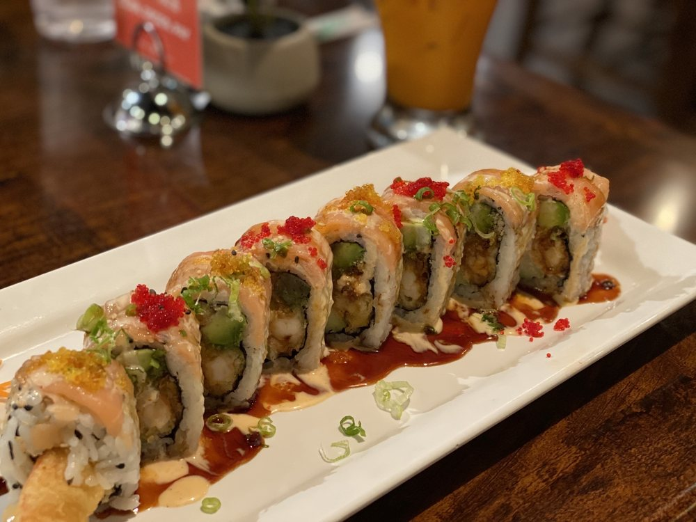 Food from SriThai  Thai Kitchen & Sushi Bar