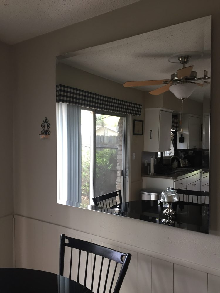 Hanging Beveled Mirror Yelp