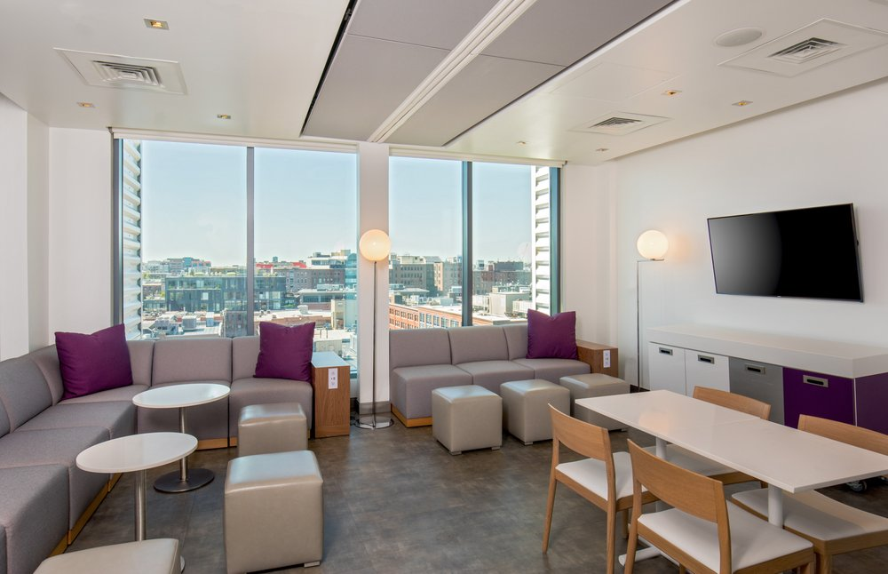 The Sky Lounge & Rooftop Terrace: 65 Seaport Blvd, Boston, MA