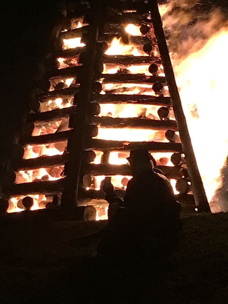 Bonfires on the Levee: Lutcher, LA