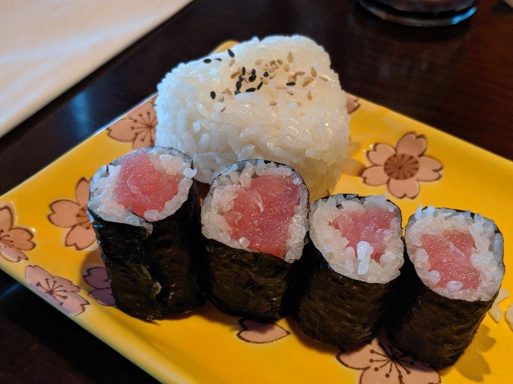 Food from Volcano Japanese Restaurant