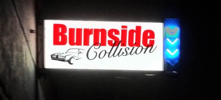 Burnside Collision