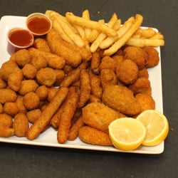 Hook fish chicken order food online 22 photos for Fish hook and chicken