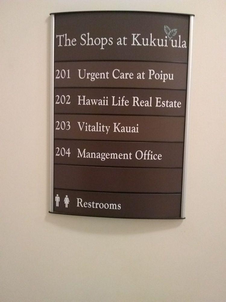 Urgent Care at The Clinic - Poipu: 2829 Ala Kalanikaumaka St, Koloa, HI