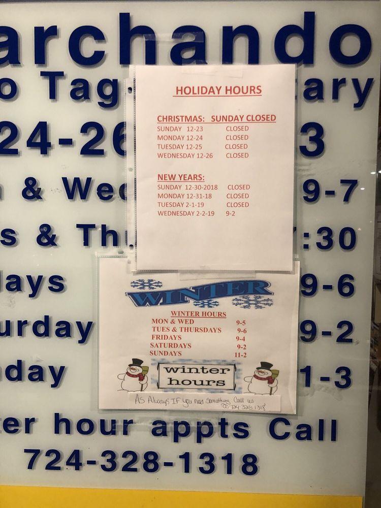 Marchando  Auto Tags & Notary: 3515 Washington Rd, Canonsburg, PA