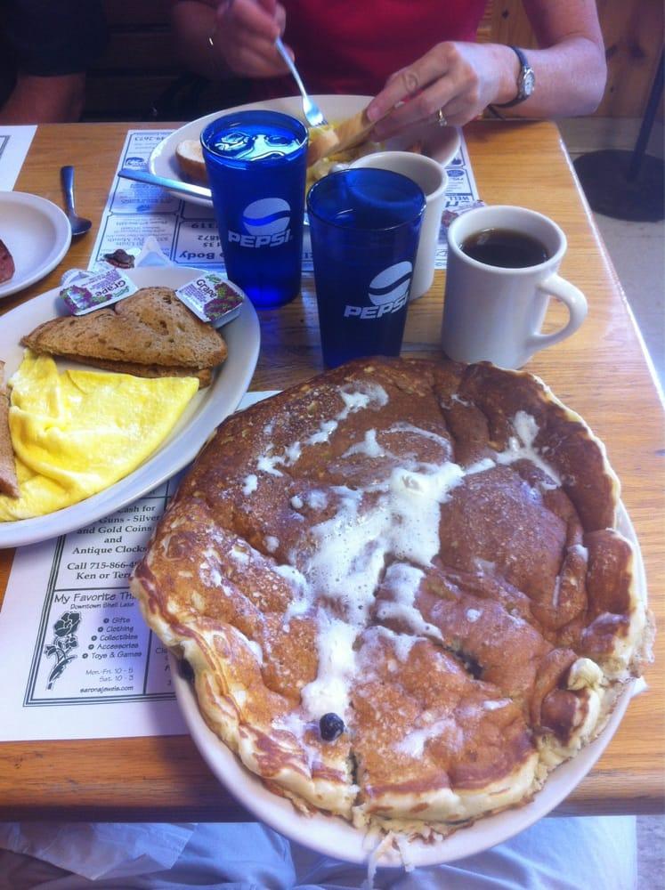 Main Street Cafe: 7719 W Main St, Siren, WI