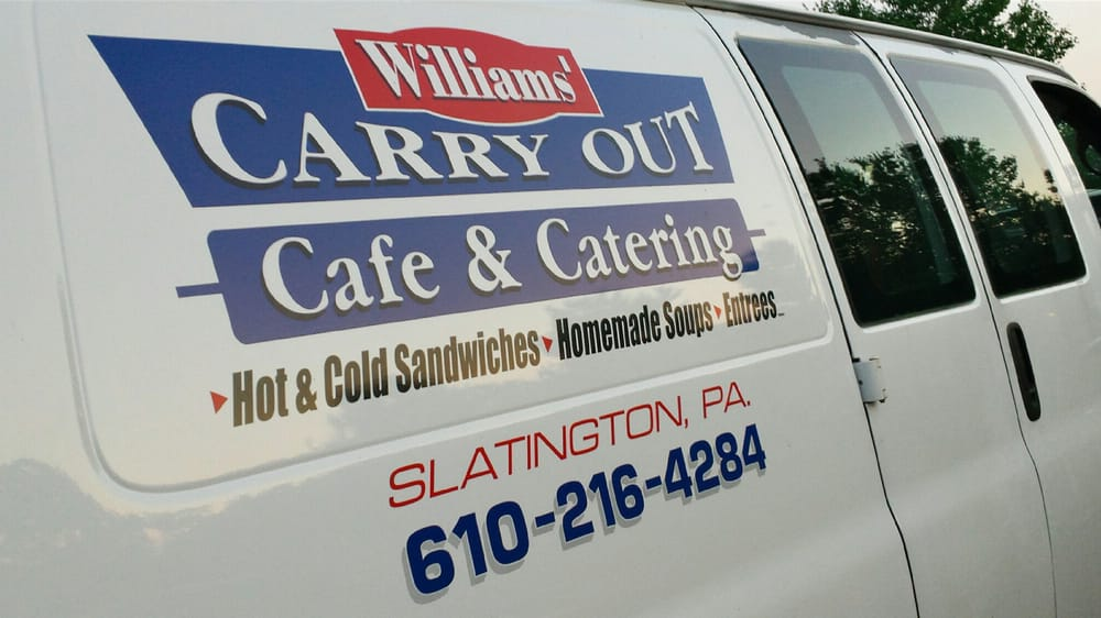 Williams Carry-Out Cafe & Catering: 918 Main St, Slatington, PA