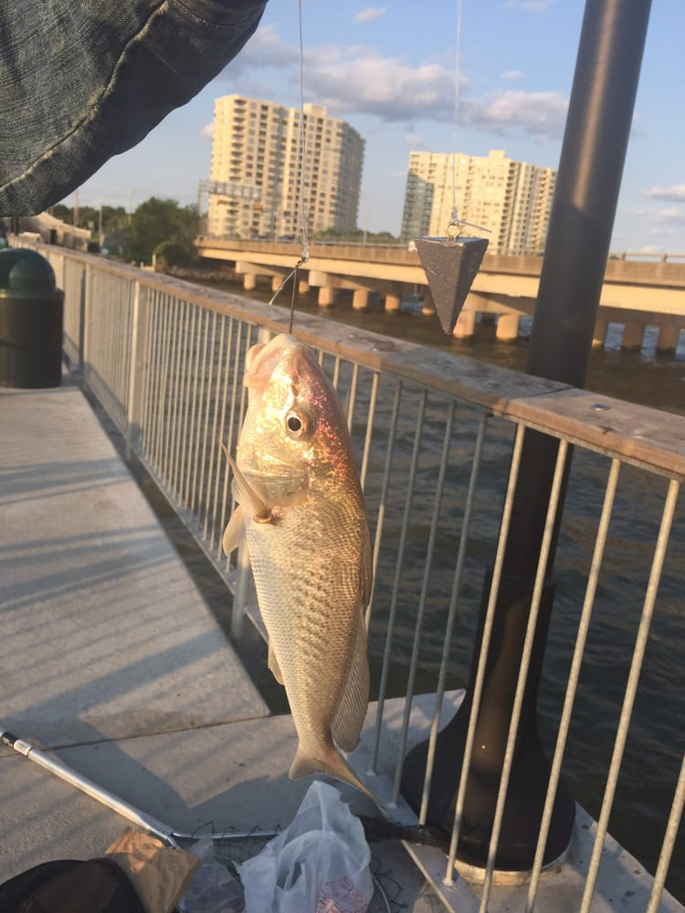 James River Bridge Fishing Pier