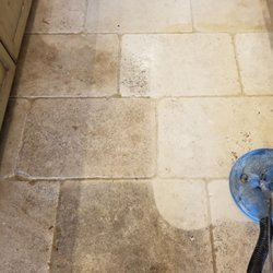 Photo Of Oops Steam Cleaning Houston Tx United States Tumbled Travertine