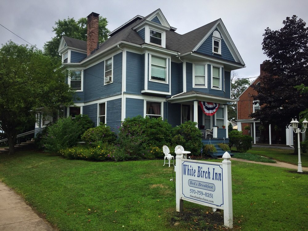 The White Birch Inn Bed and Breakfast: 1303 Market St, Berwick, PA