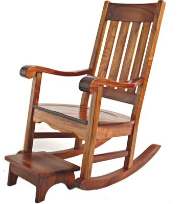 Photo Of Tang Koa Furniture Honolulu Hi United States Rocking Chair Made