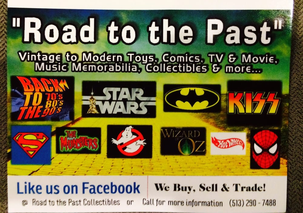 Road To the Past Collectibles: 4486 Harrison Ave, Cincinnati, OH