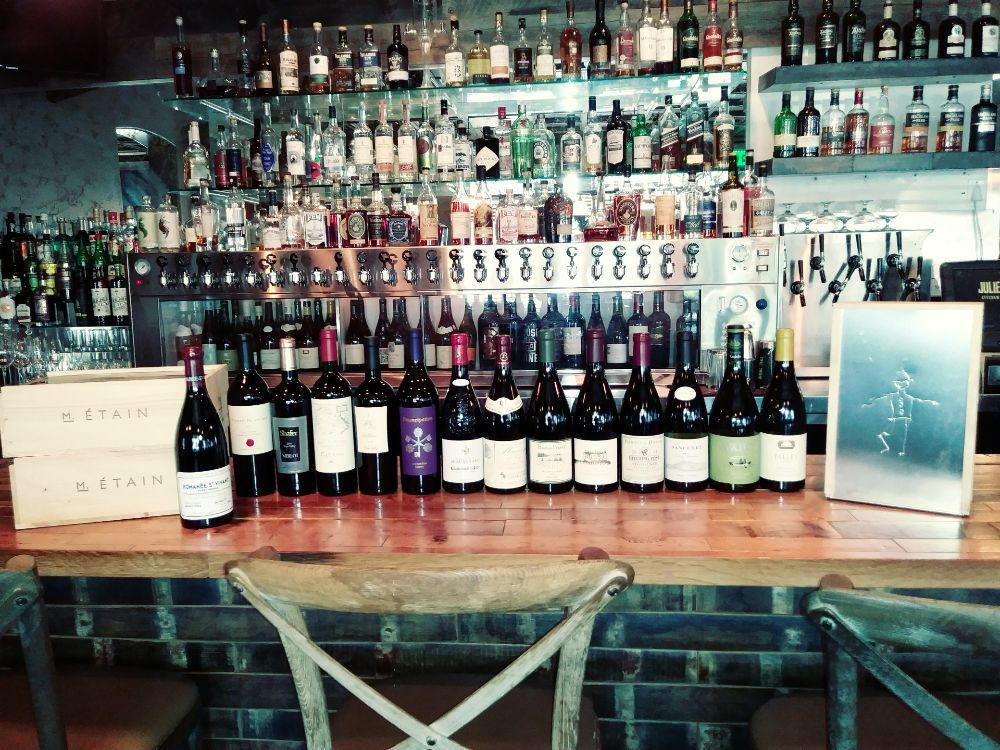 Most Of The Line Up At This Saturday S Wine Tasting December