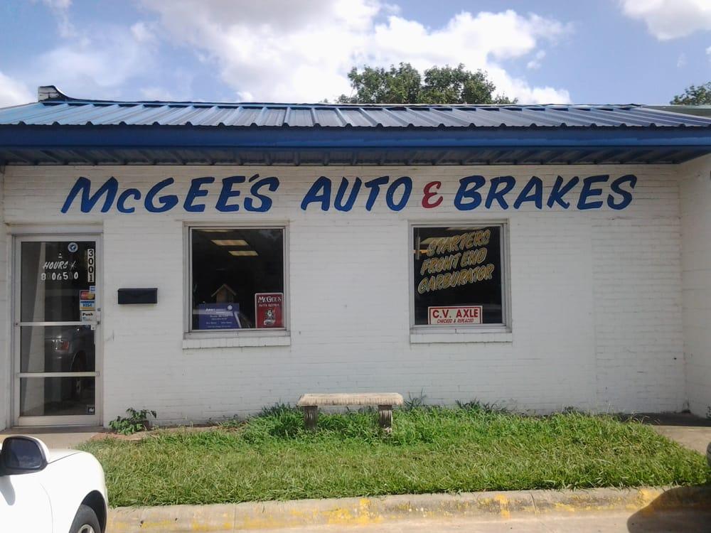 McGee's Brake & Auto Repair: 3001 W 7th Ave, Corsicana, TX