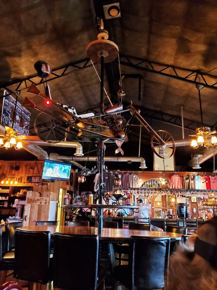Road Hog Saloon: 55900 E Hwy 85 A, Afton, OK