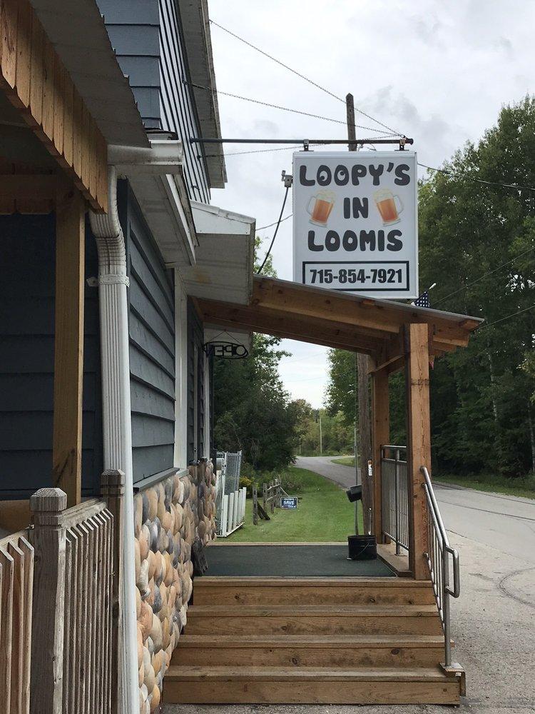 Loopy's Bar & Grill: 6075 Loomis Rd, Porterfield, WI