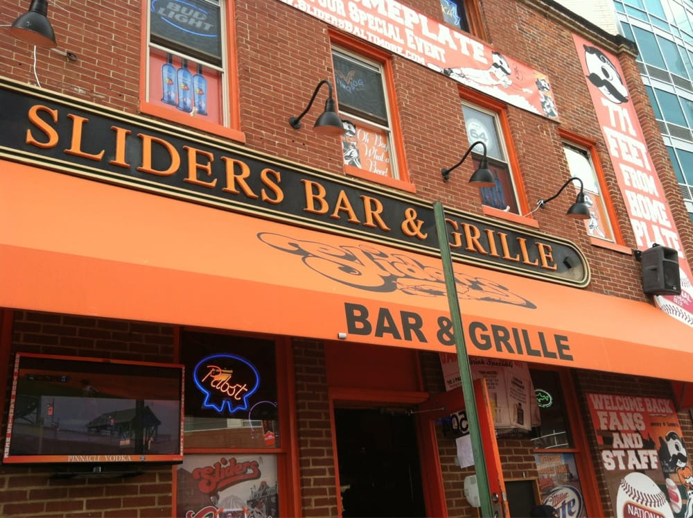 Sliders bar and grill 51 photos 97 reviews pubs 504 washington blvd inner harbor - Restaurant bar and grill ...