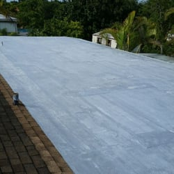 Photo Of Kennedy Roofing And Waterproofing   Homestead, FL, United States.  Roof Coating
