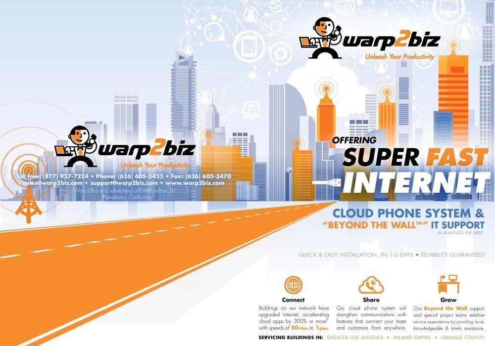 Warp2Biz - Internet Service Providers - 101 E Green St, Pasadena, CA