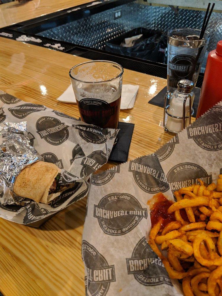 Bucharest Grill: 436 West Columbia St, Detroit, MI