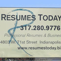 resumes today inc graphic design 4803 w 71st st indianapolis