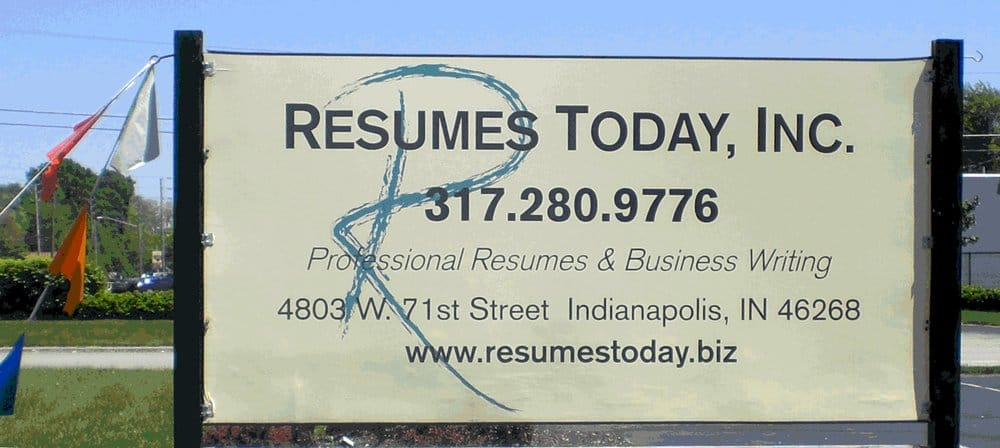 Resumes today inc graphic design 4803 w 71st st for Resumes today indianapolis