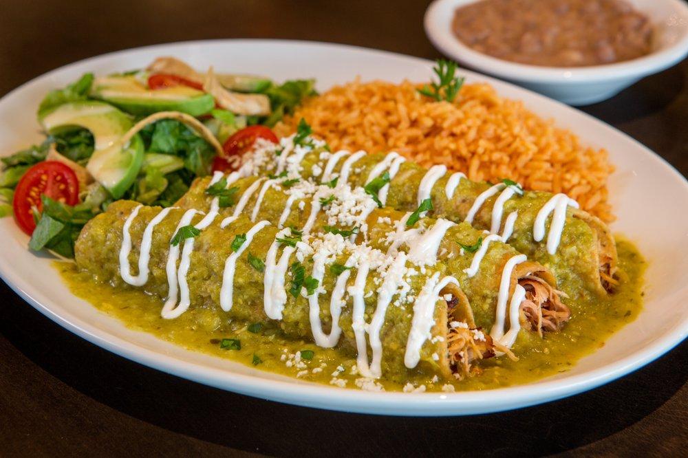 Crispy Chicken Enchiladas Verdes - Yelp