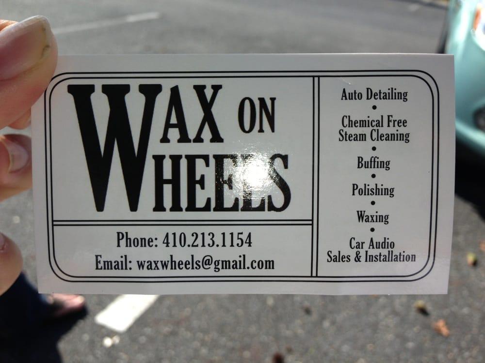 Wax On Wheels