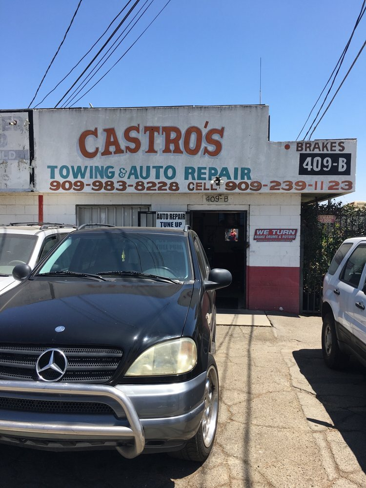 Castro's Towing & General Auto Repair - 409 S Bon View Ave