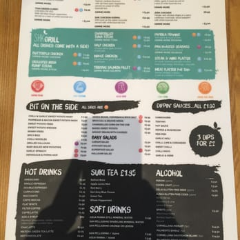 Slims Kitchen Belfast Menu