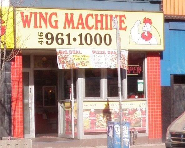 Wing Machine
