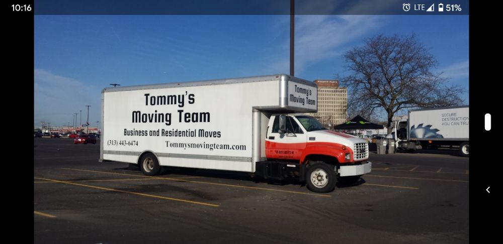 Tommys Moving Team: 22861 Wellington, Dearborn, MI
