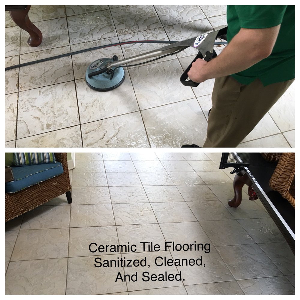 Ceramic Tile Cleaning With Tnt Chem Dry Yelp