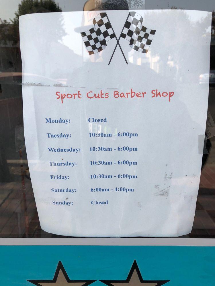 Sports Cut Barber Shop: 126 S E St, Exeter, CA