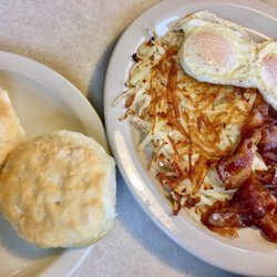 Photo Of County Kitchen Marion Ia United States Classic Breakfast With Buiscuits