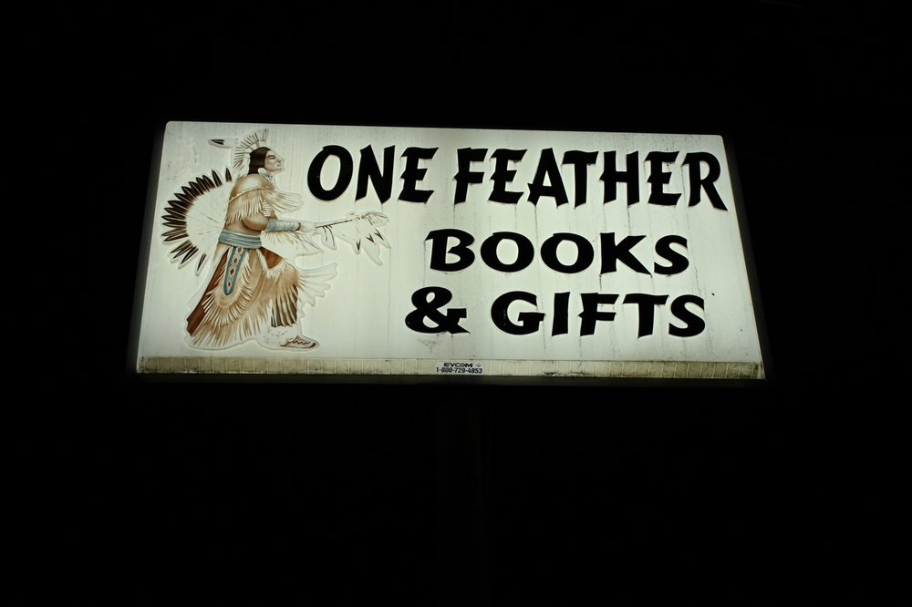 One Feather Books and Gifts: 17670 S Muskogee Ave, Tahlequah, OK