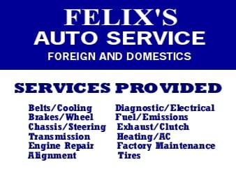 Felix's Auto Service