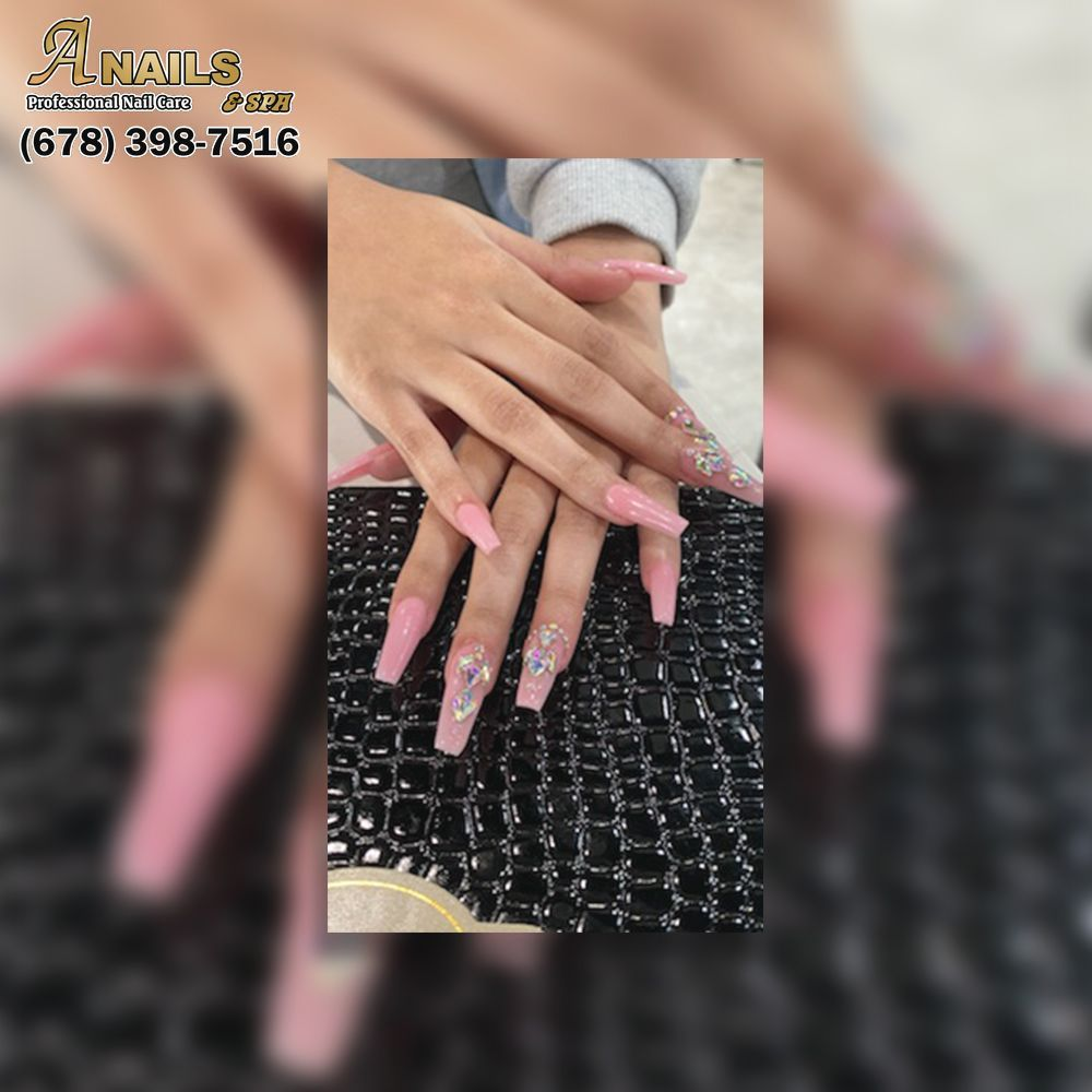 A Nails & Spa: 4075 Charles Hardy Pkwy, Dallas, GA