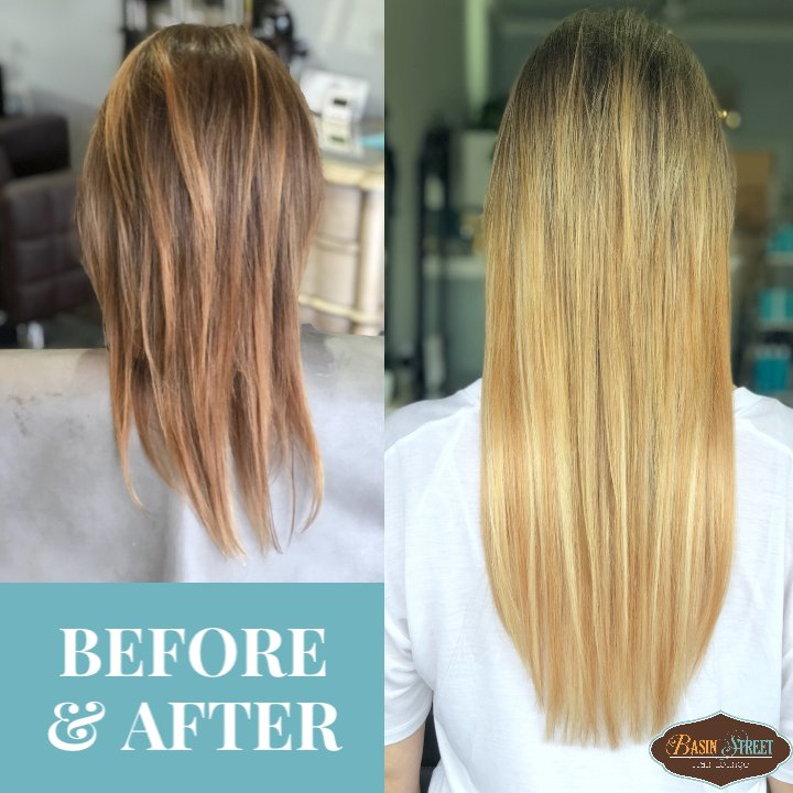 Rooted Blonde Tape Hair Extensions Yelp